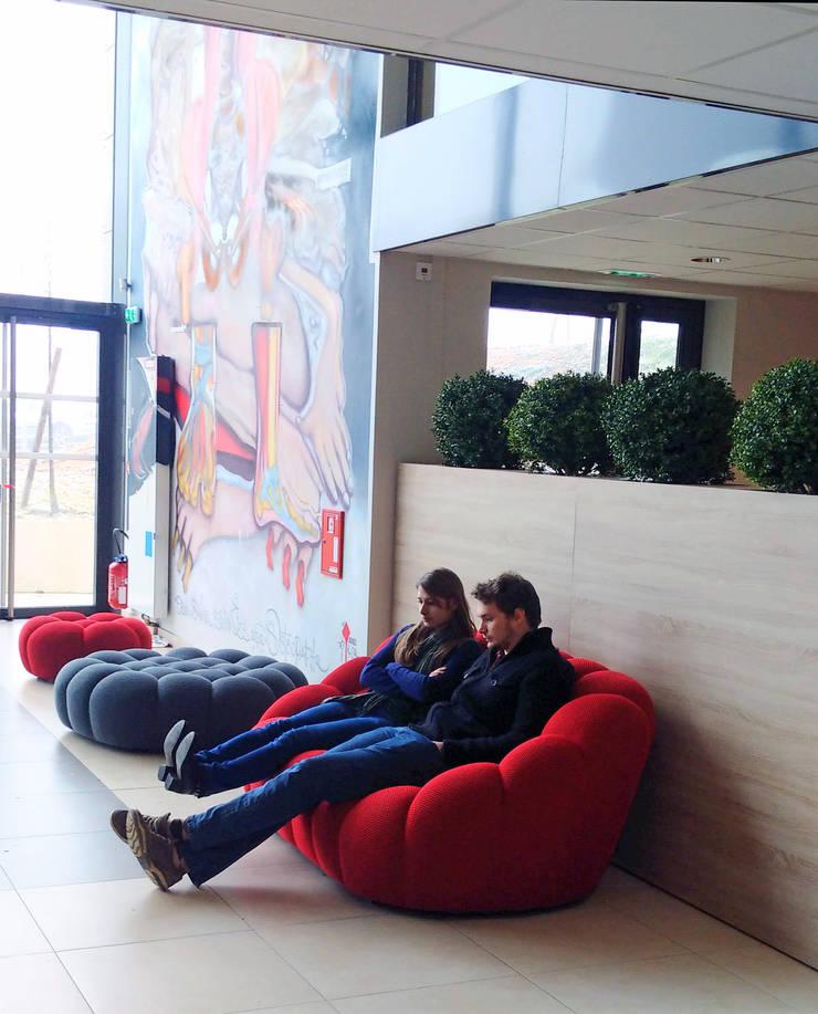 ECOLE ISOSTEO LYON: Ecoles de style  par EVA MYARD interior