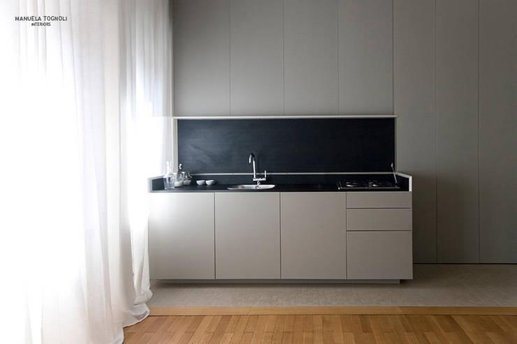 Casa Villa Pamphili: Cucina in stile  di Manuela Tognoli * Label201