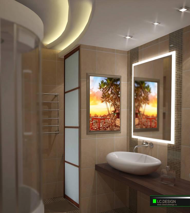 Квартира для отдыха в Болгарии: Ванные комнаты в . Автор – LC.DESIGN