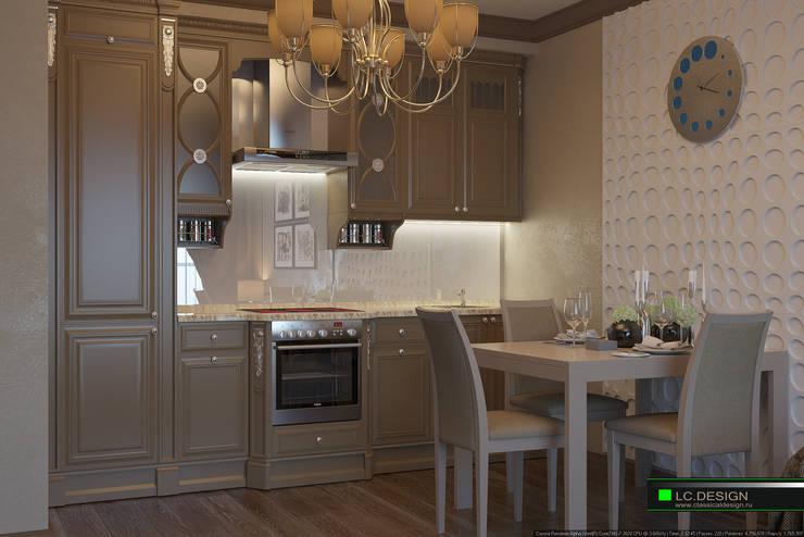 Квартира для отдыха в Болгарии: Кухни в . Автор – LC.DESIGN