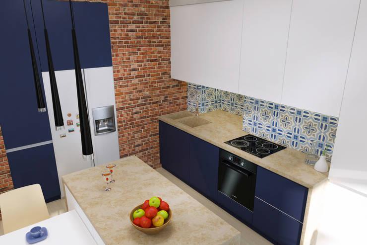 Вид на кухню: Кухни в . Автор – PlatFORM