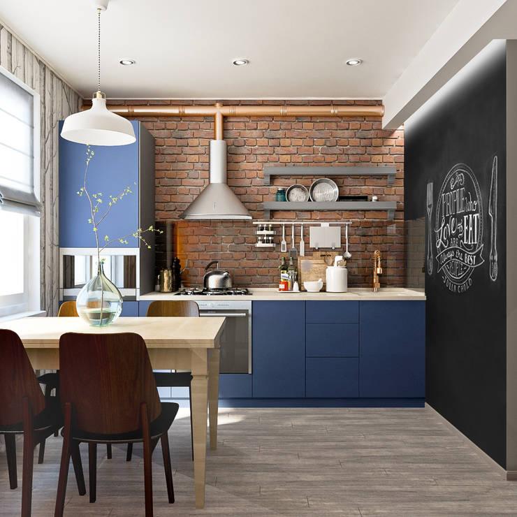 Projekty,  Kuchnia zaprojektowane przez PlatFORM