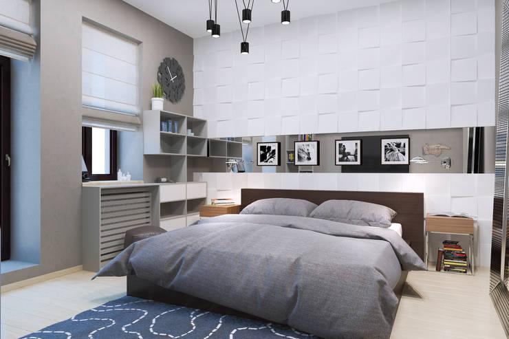Спальная : Спальни в . Автор – PlatFORM