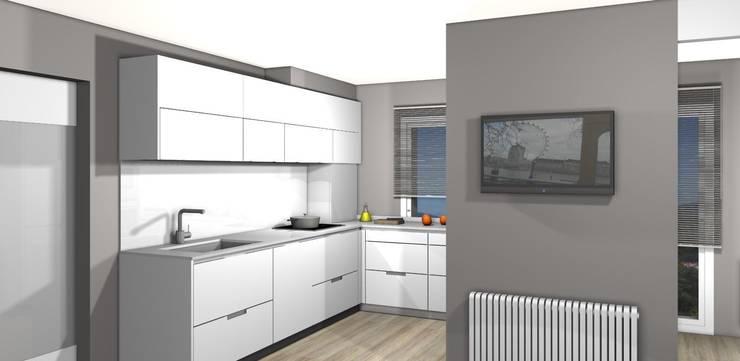 Proyecto de cocina para casa unifamiliar.: Cocinas de estilo  de KITS INTERIORISME