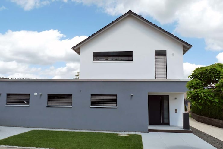 Casas de estilo  por Architekturbüro Arndt