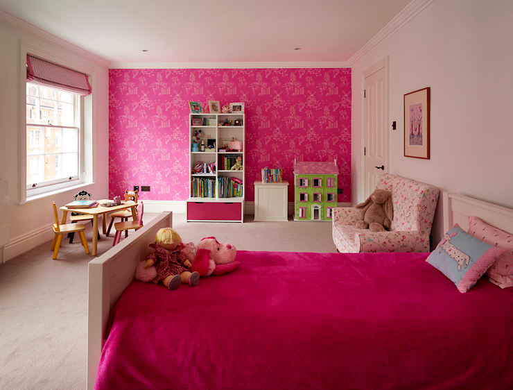 Reflected Glory - Holland Park Renovation:  Nursery/kid's room by Tyler Mandic Ltd