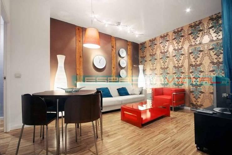Salas de estilo moderno de Javier Zamorano Cruz Moderno