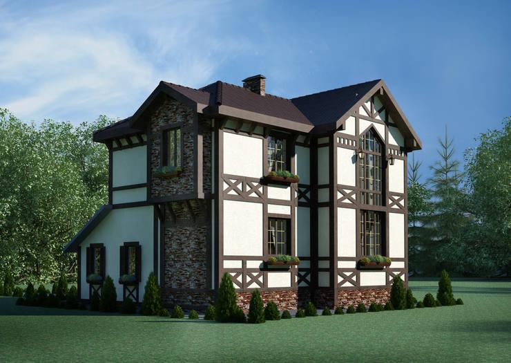 Дом в немецком стиле : Дома в . Автор – Студия Ксении Седой