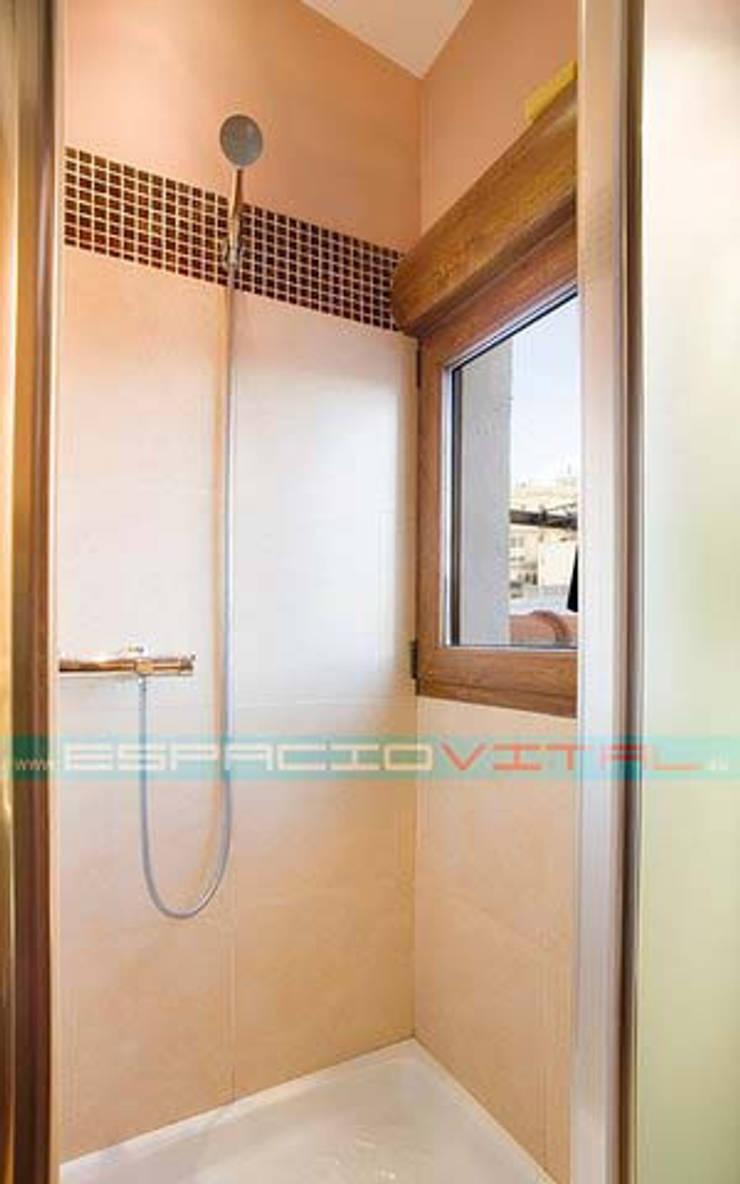 現代浴室設計點子、靈感&圖片 根據 Javier Zamorano Cruz 現代風
