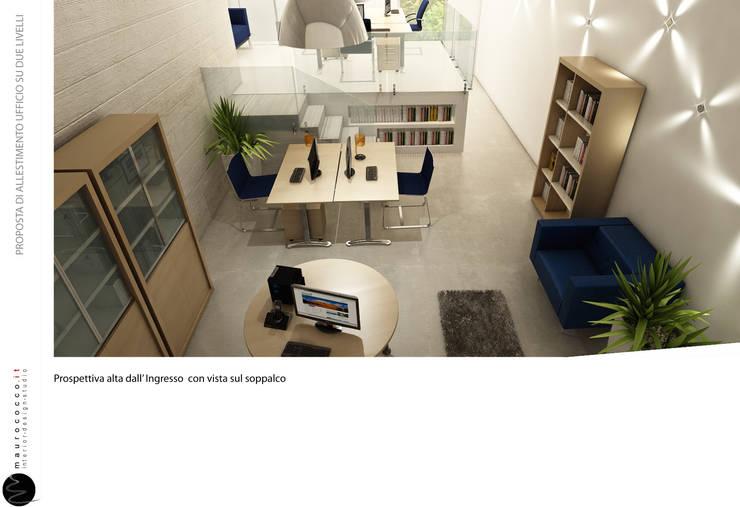 LOFT BLUEBERRY: Studio in stile  di maurococco.it,