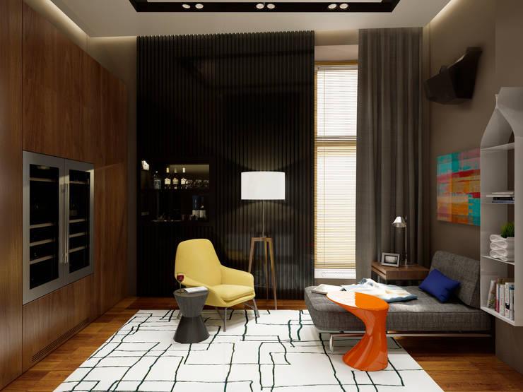 Wine Room, : Гостиная в . Автор – Max Kasymov Interior/Design