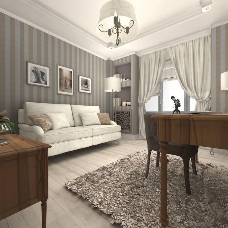 Квартира в Санкт-Петербурге: Рабочие кабинеты в . Автор – Ekaterina Bahir