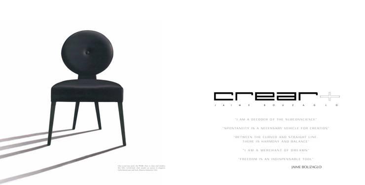 Pearl Chair by Jaime Bouzaglo for Brueton Industries USA: Comedor de estilo  de CREAR - Jaime Bouzaglo