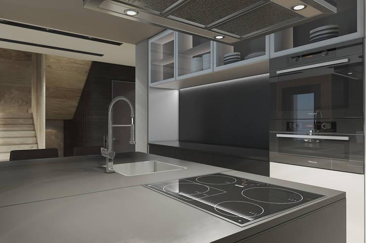 Современный дизайн кухни: Кухни в . Автор – MC Interior