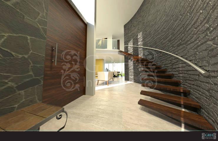 Proyecto Chaga: Casas de estilo  por GRH Interiores