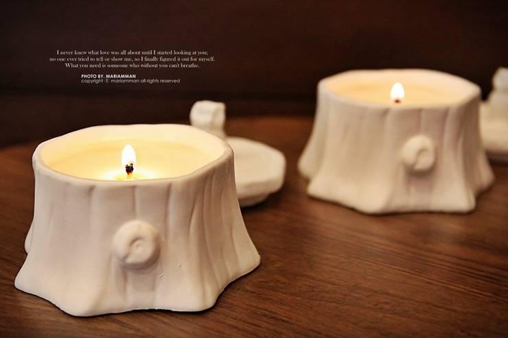 나홀로 부엉이 소이캔들: 마리암만의  가정 용품
