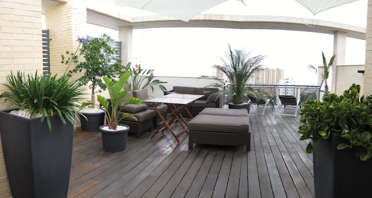 Flat roof by homify