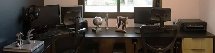 Apartamento Passo D´Areia: Escritórios  por Bibiana Menegaz - Arquitetura de Atmosfera