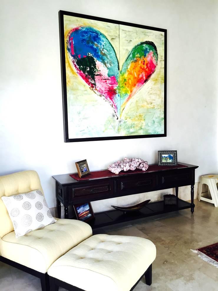 Corazón: Arte de estilo  por Galeria Ivan Guaderrama