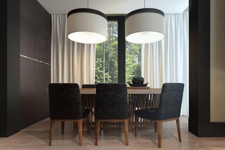 Дизайн загородного дома: Столовые комнаты в . Автор – MC Interior