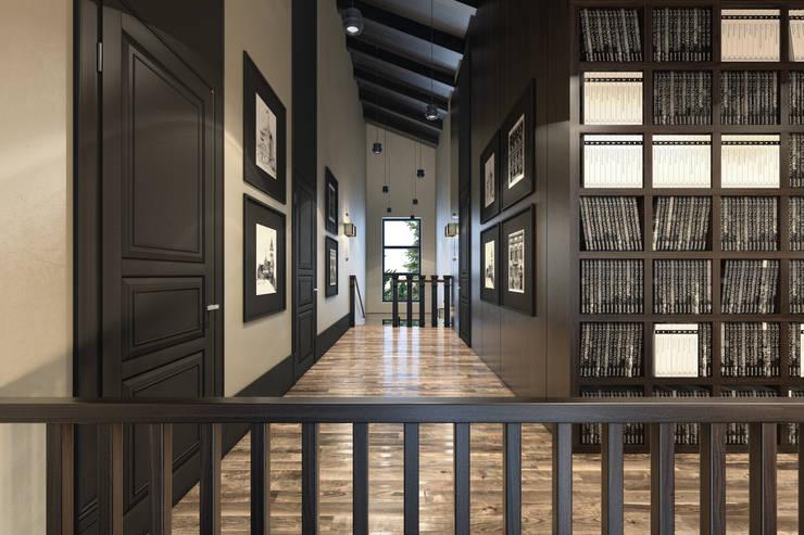 Дизайн загородного дома: Коридор и прихожая в . Автор – MC Interior