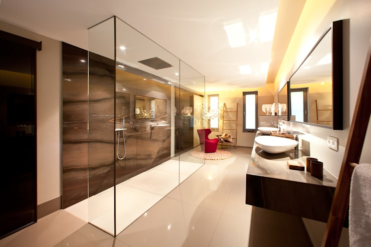Traumbad:  Badezimmer von Marmor Radermacher