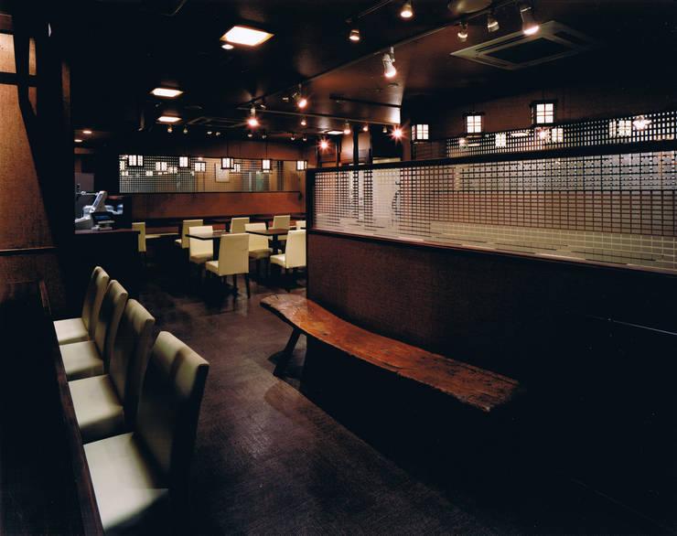 石臼そば 寿: 谷山武デザイン事務所が手掛けたオフィススペース&店です。
