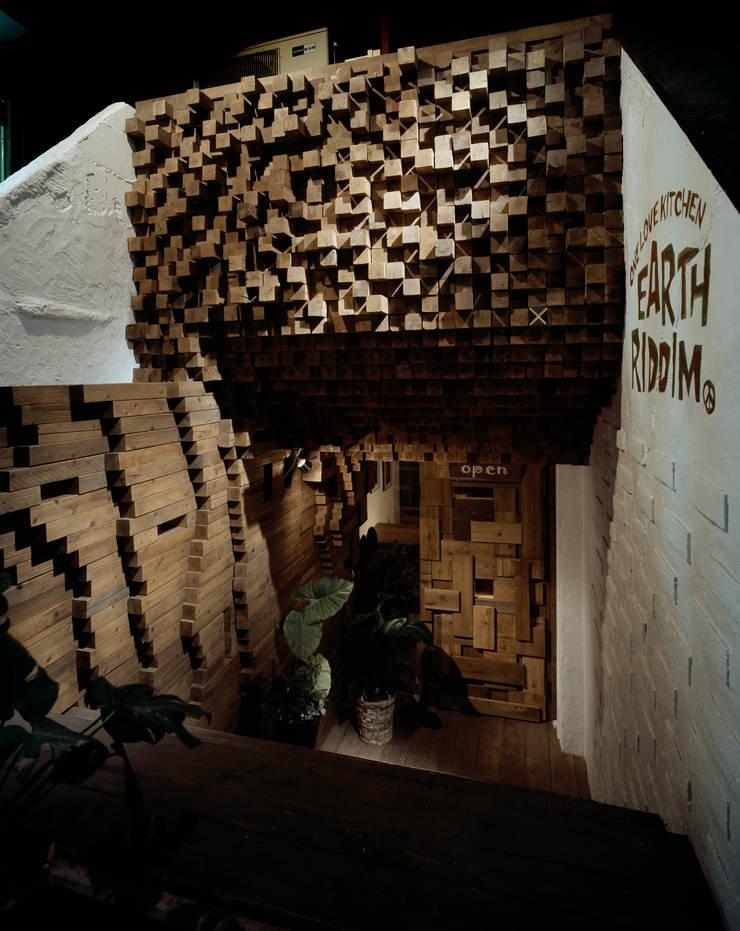 ONE LOVE KITCHEN EARTH RIDDIM: 谷山武デザイン事務所が手掛けたオフィススペース&店です。