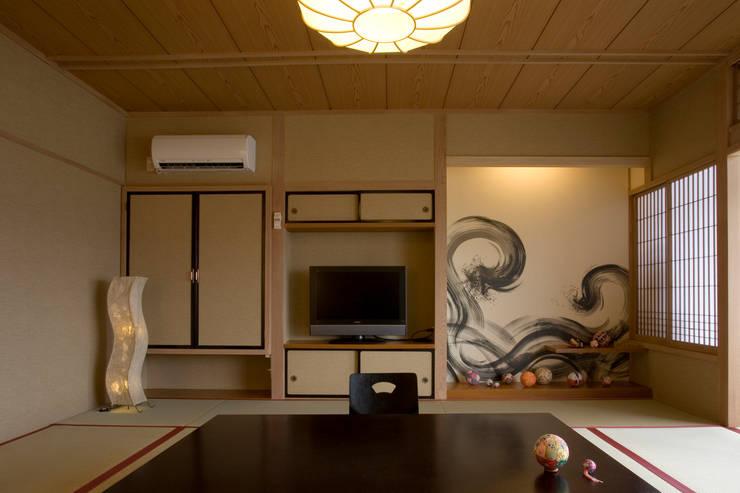 松江の湯宿 てんてん手毬: 谷山武デザイン事務所が手掛けたホテルです。
