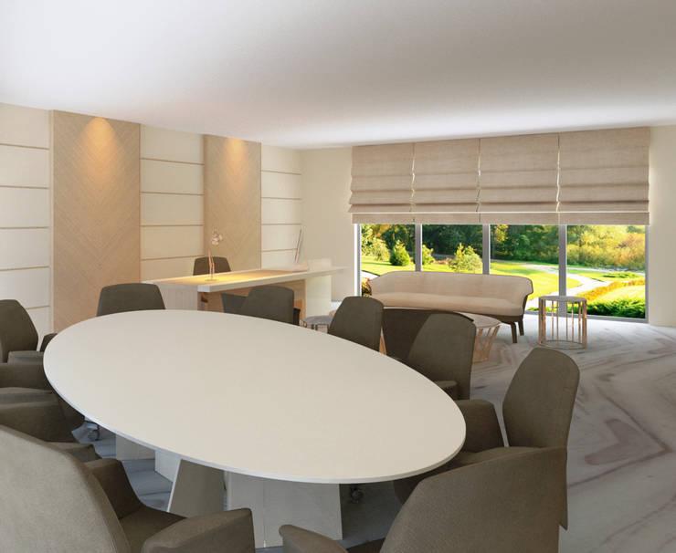 Inan AYDOGAN /IA  Interior Design Office – GUZELL TOWER OFFİCE :  tarz Ofis Alanları