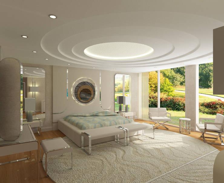 Cuartos de estilo moderno de Inan AYDOGAN /IA Interior Design Office Moderno