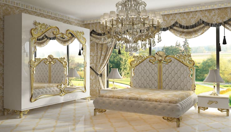 Inan AYDOGAN /IA  Interior Design Office – AVANGARDE BEDROOM:  tarz Yatak Odası,