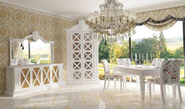 Inan AYDOGAN /IA  Interior Design Office – COUNTRY  BEDROOM: rustik tarz tarz Yemek Odası