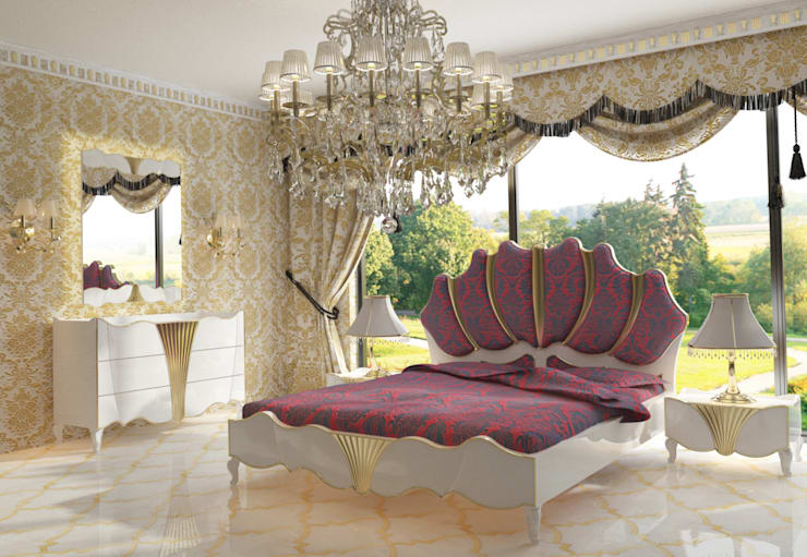 Inan AYDOGAN /IA  Interior Design Office – AVANGARDE BEDROOM:  tarz Yatak Odası