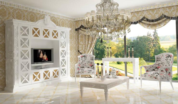 Inan AYDOGAN /IA  Interior Design Office – COUNTRY  BEDROOM: rustik tarz tarz Oturma Odası