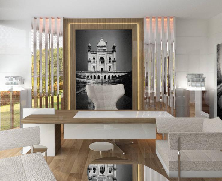 Inan AYDOGAN /IA  Interior Design Office – GUZELL TOWER OFFICE:  tarz Ofis Alanları