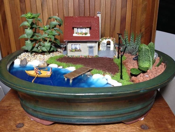 MyHobbyMarket & Peri Bahçem – PB0043 - Göl Kıyısında Ev:  tarz Ev İçi