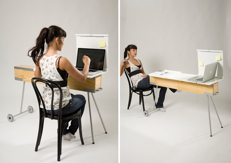Slow Domo Design: minimalistic Study/office by Q2xRo