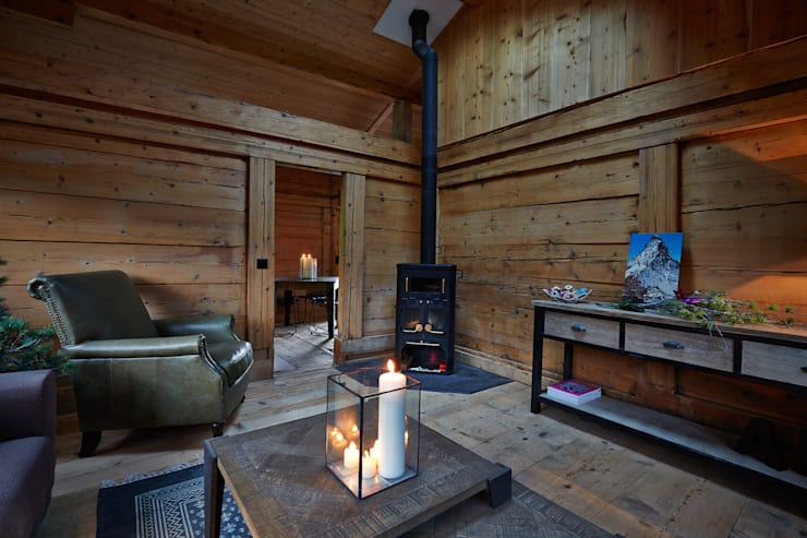 Ofen:  Wohnzimmer von gehret design gmbh