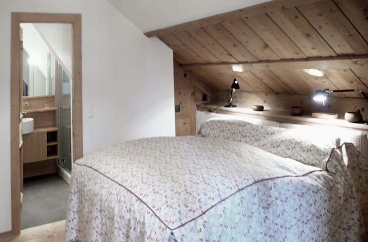 Bedroom by andrea borri architetti