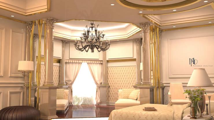 MHD Design Group – cam_01: rustik tarz tarz Yatak Odası