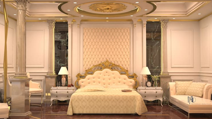 MHD Design Group – cam_02: rustik tarz tarz Yatak Odası