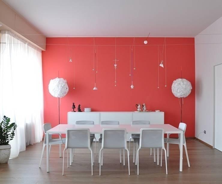 غرفة السفرة تنفيذ Emanuela Orlando Progettazione
