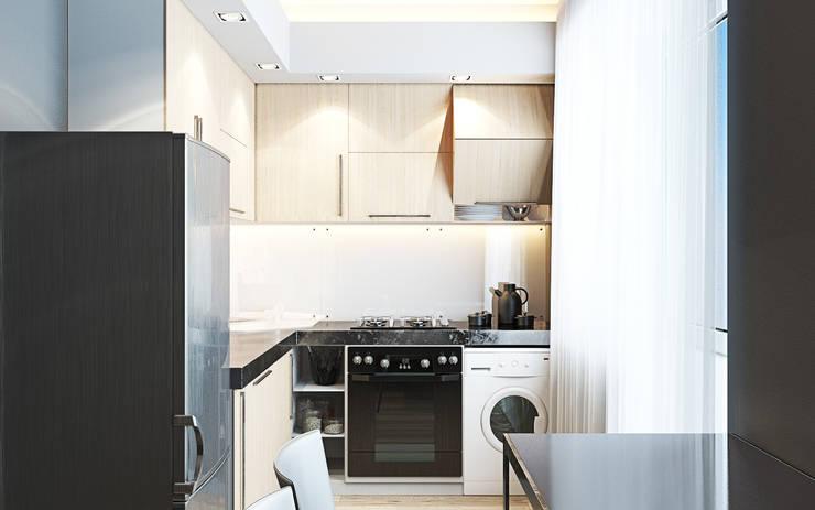 Дизайн интерьера кухни: Кухни в . Автор – DOMOS Студия дизайна интерьеров и ремонта