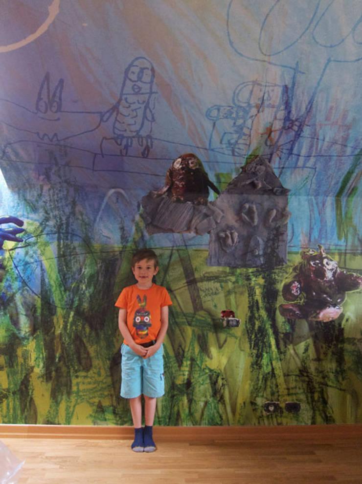 Child Fun, Praag:  Muren & vloeren door Workingbert
