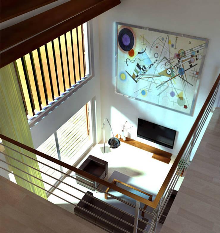 Gamme Nordica:  de style  par Plug in architectural Workshop