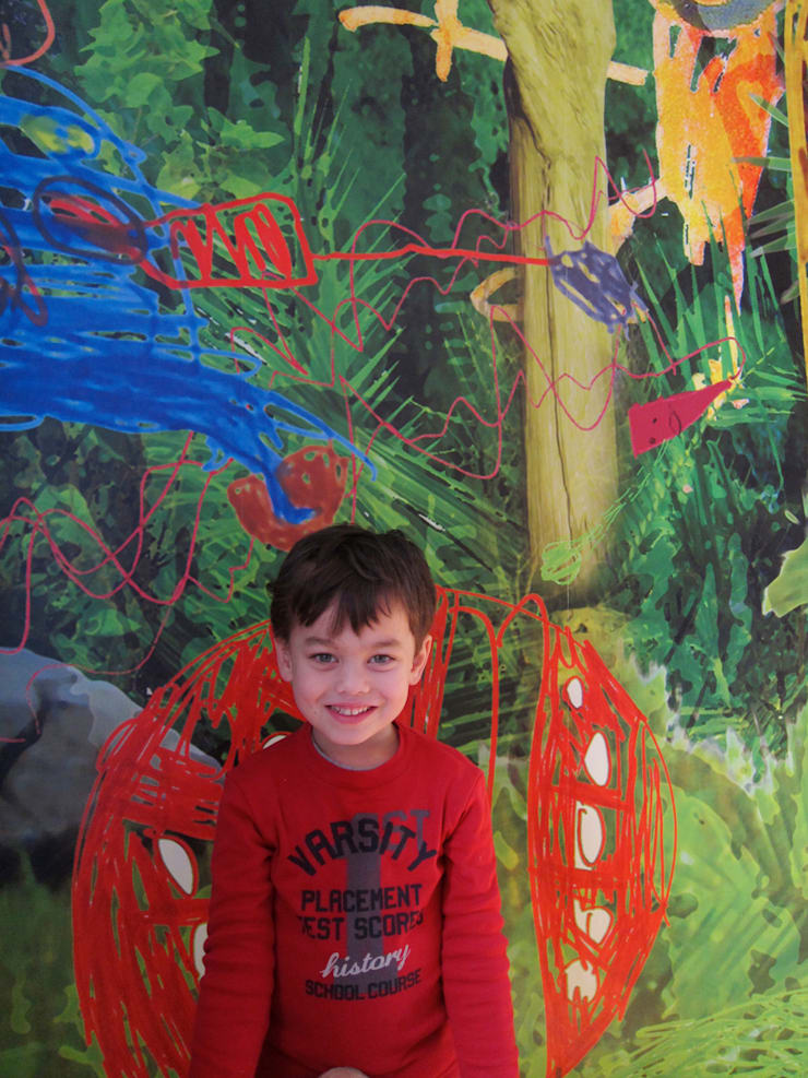 Child Fun, Amsterdam:  Muren & vloeren door Workingbert