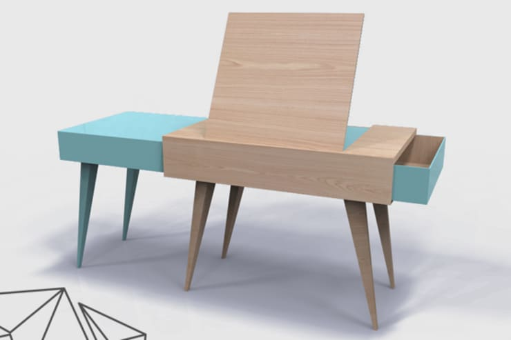 TAD version Table à dessin: Bureau de style  par Dem Design