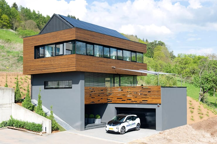 modern Houses by massive passive
