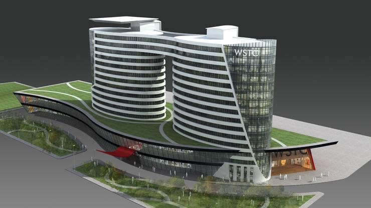 WSTC: Lojas e imóveis comerciais  por LDBW – Luiz Deusdara Building Workshop